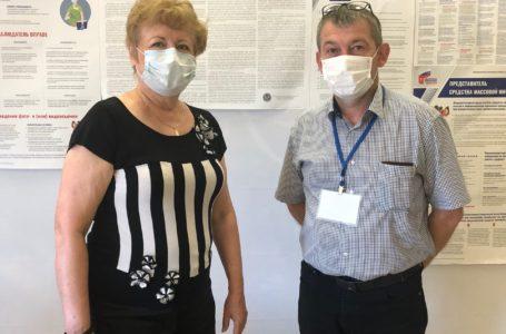 (УИК № 2120) посетила Татьяна Ивановна Ронзина